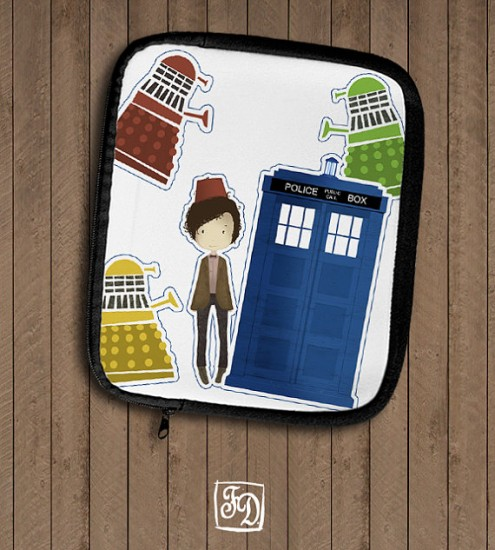 geeky ipad cases doctor who