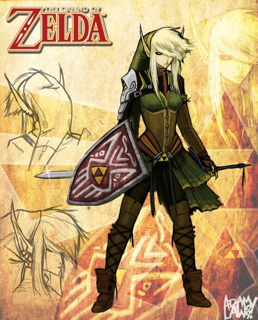 zelda starring zelda