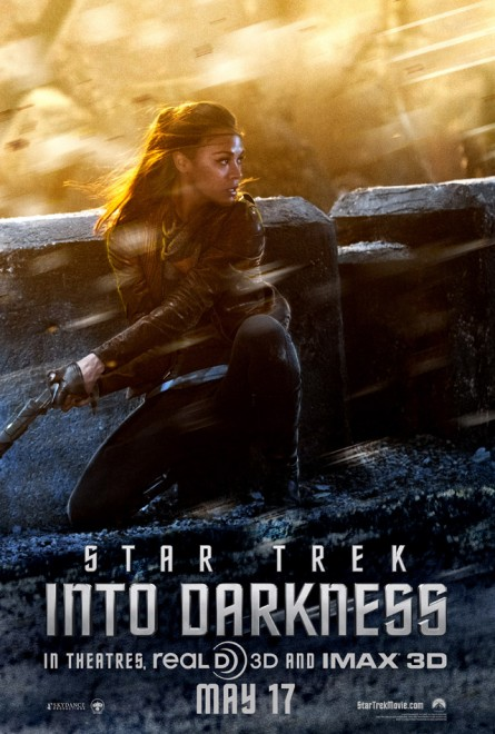 Star Trek Into Darkness Poster - Uhura