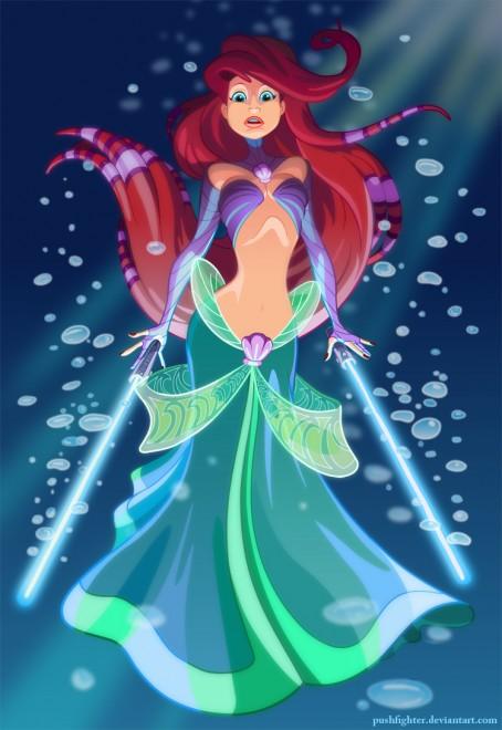 disney-princesses-ariel-jedi2-454x660