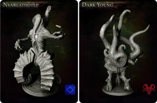 Nyarlathotep & Dark Young