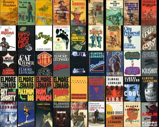 collage-of-elmore-leonard-books
