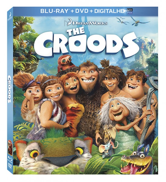 The Croods Blu-ray Prize Pack