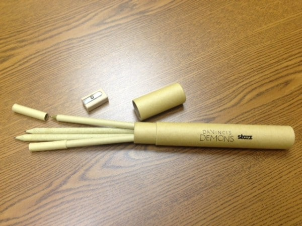 Davinci's Demons pencil set