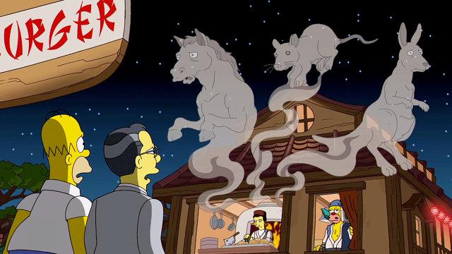 Hayao Miyazaki Tribute on The Simpsons