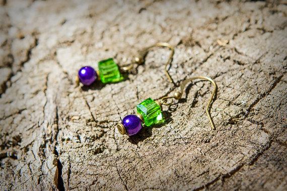 green-goblin-earrings
