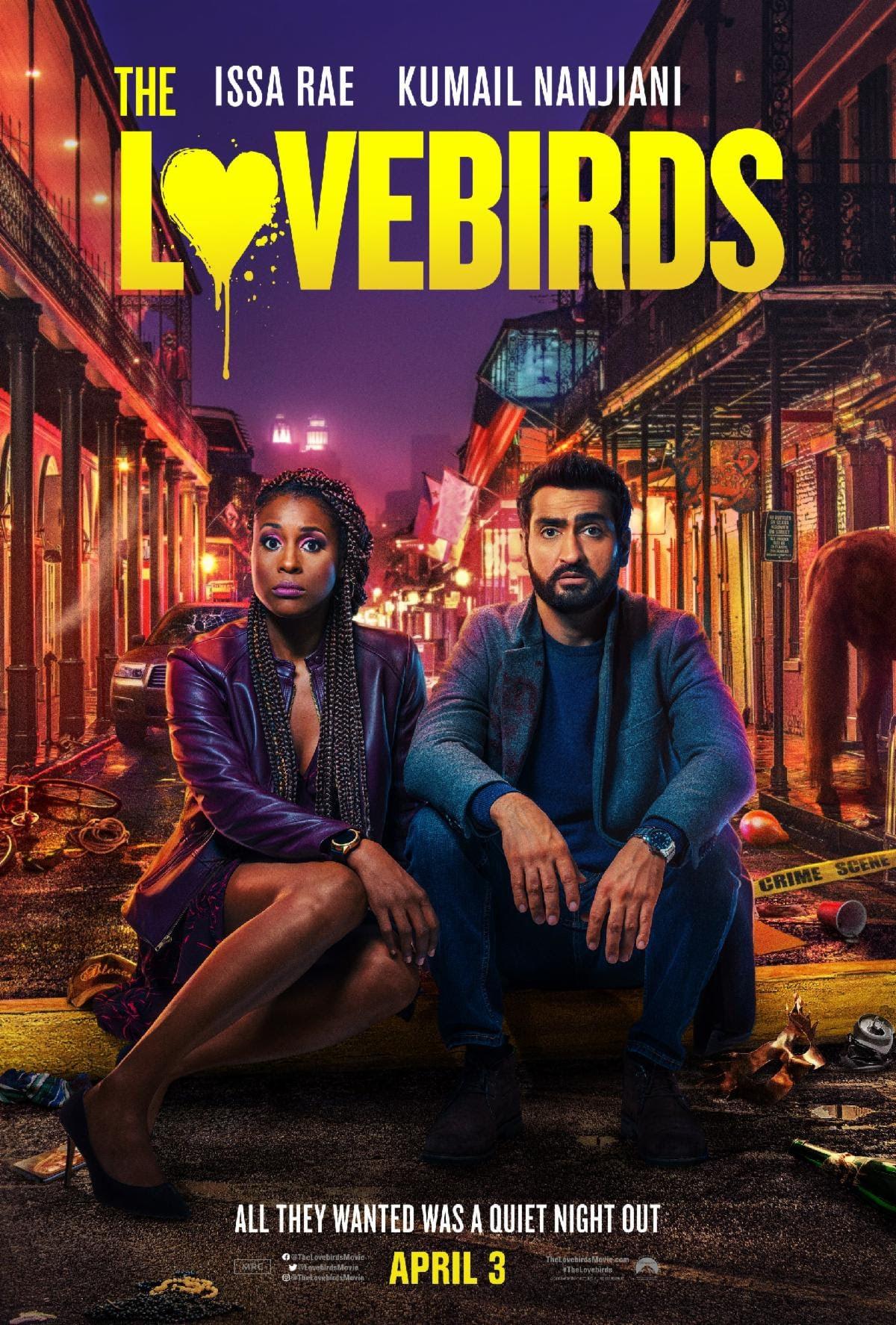 the lovebirds new trailer