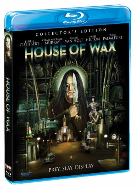 House of Wax Blu-ray Cover